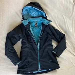 EUC Noble Outfitters Riding Winter Jacket Blue M